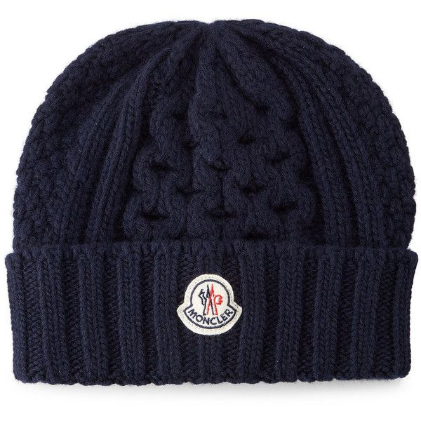 Moncler Cable Knit Cashmere Beanie Hat Cashmere Beanie Beanie Hats Mens Beanie Hats