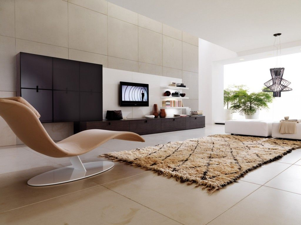 Modern Living Room Design With Unique Chair Picture | Interior ...