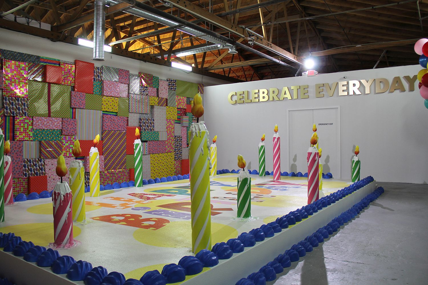 image result for happy place museum pop up installation museums places basketball court. Black Bedroom Furniture Sets. Home Design Ideas