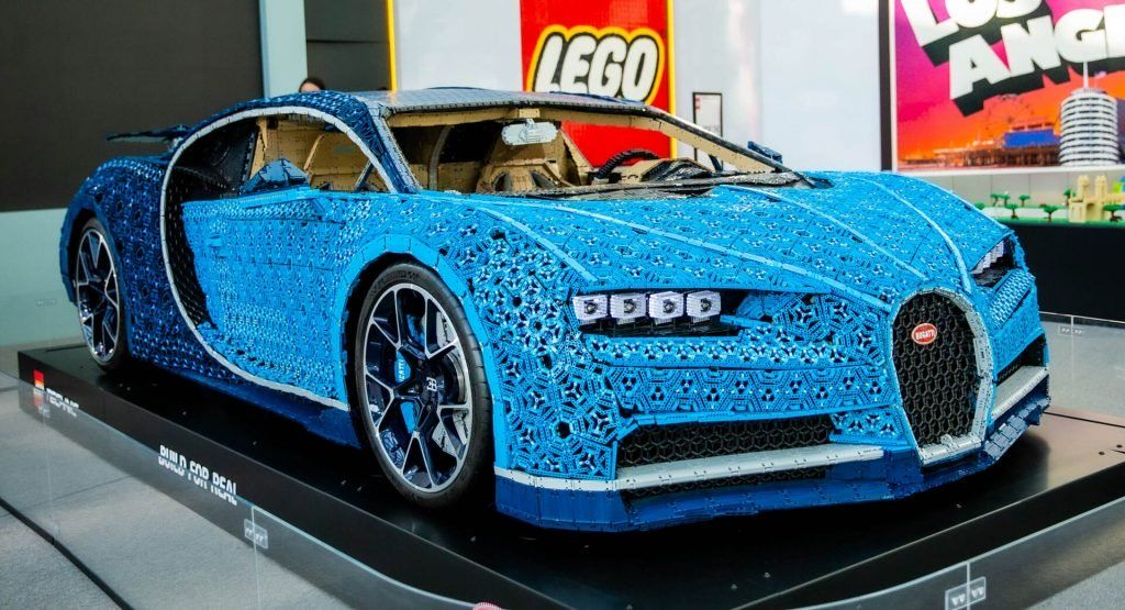 Admit It You Want To Touch And Drive The Lego Bugatti Chiron Don T You Carscoops Bugatti Chiron Bugatti Bugatti Eb110