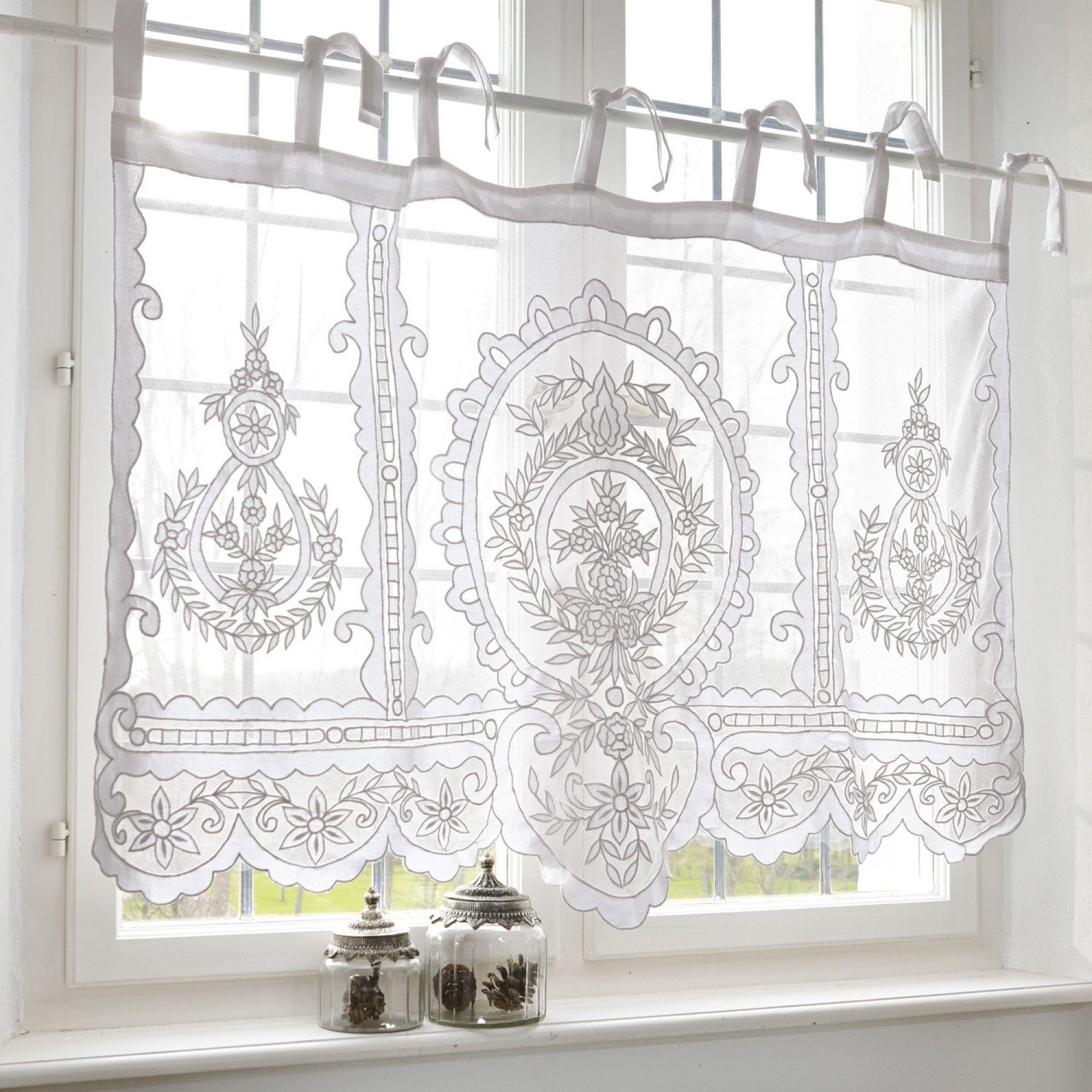 Scheibengardine Elenoire Loberon Coming Home Girlsbedroomcurtains Voilecurtainsideas Cottage Curtains Bathroom Window Curtains Voile Curtains