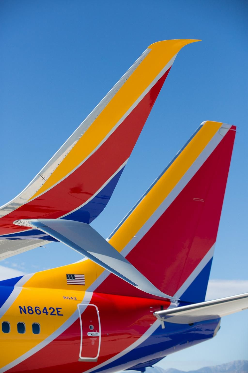 Blue, Red & Yellow Southwest airlines, New aircraft