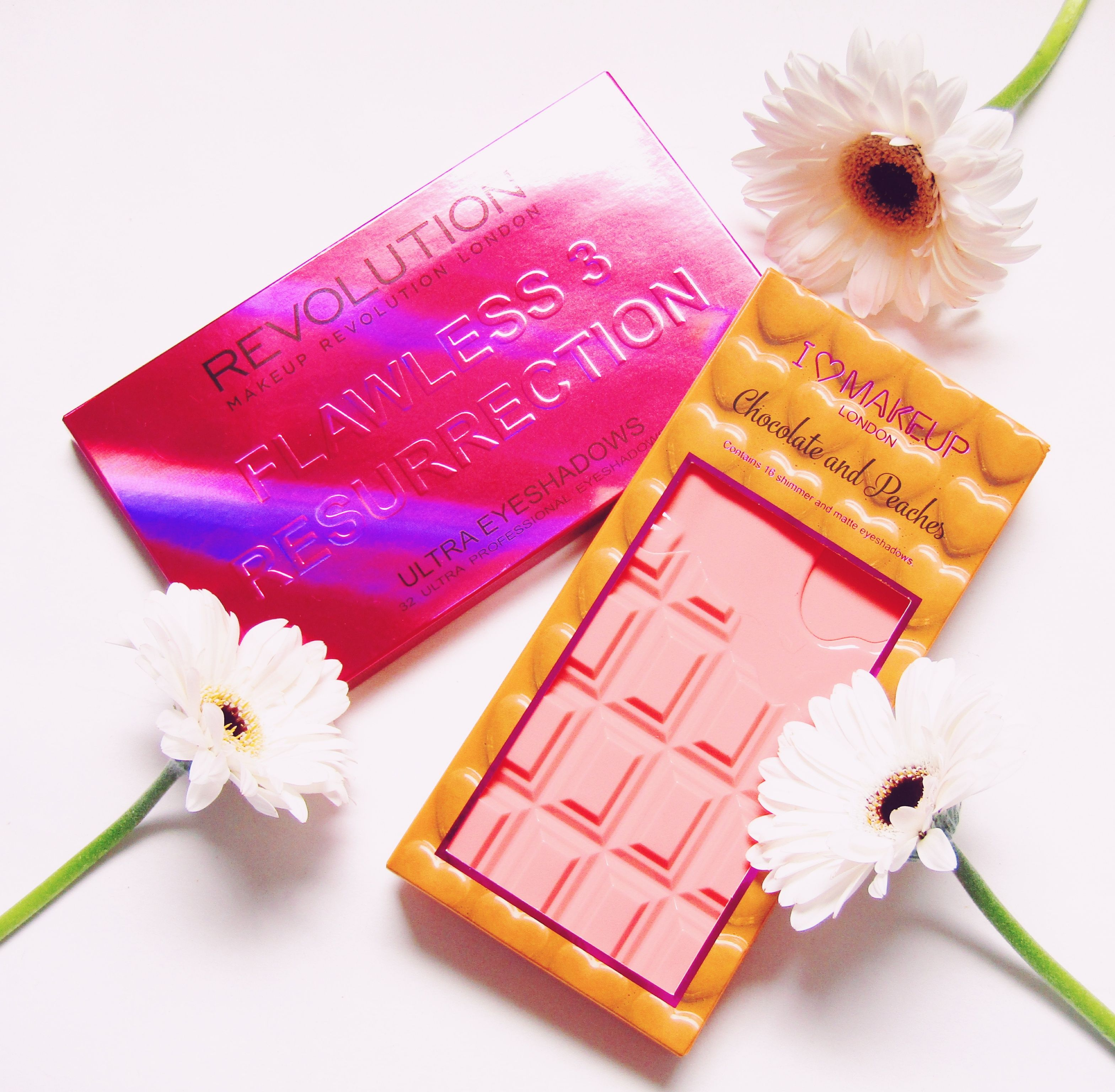 Makeup Revolution Flawless 3 Resurrection and I Heart