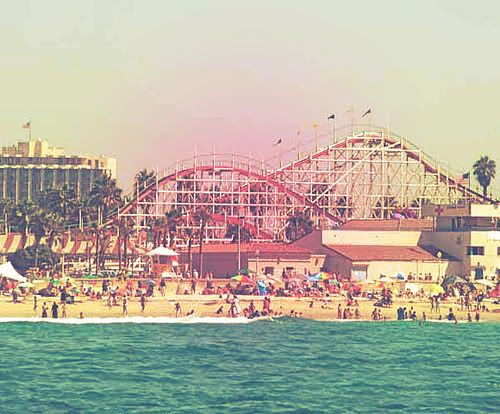 Mission Beach In San Diego Is Home To Belmont Park With The Historic Giant Dipper Roller Coaster As Well Miles Of Beaches Volleyball Courts