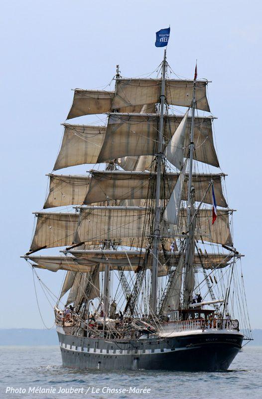 Belem trois m ts barque construit nantes par les for Construire le belem