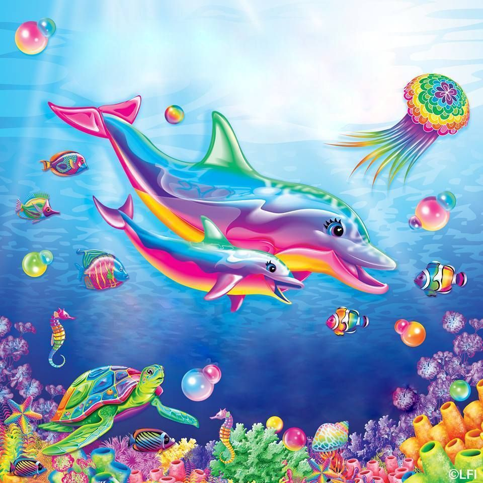 Pin On Lisa Frank Stickers Water Animals