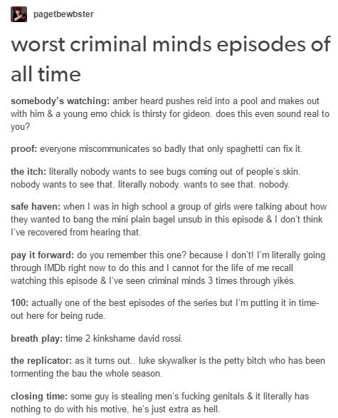 Amber Heard Criminal Minds Episode