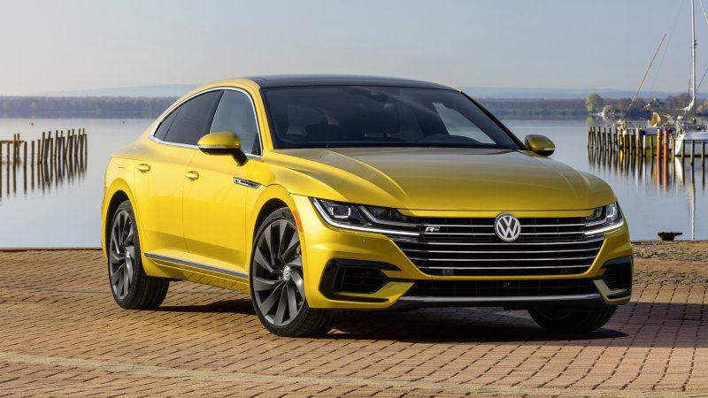 Vw To Offer 2019 Arteon In R Line Package In 2020 Volkswagen Cc Volkswagen Scirocco Volkswagen