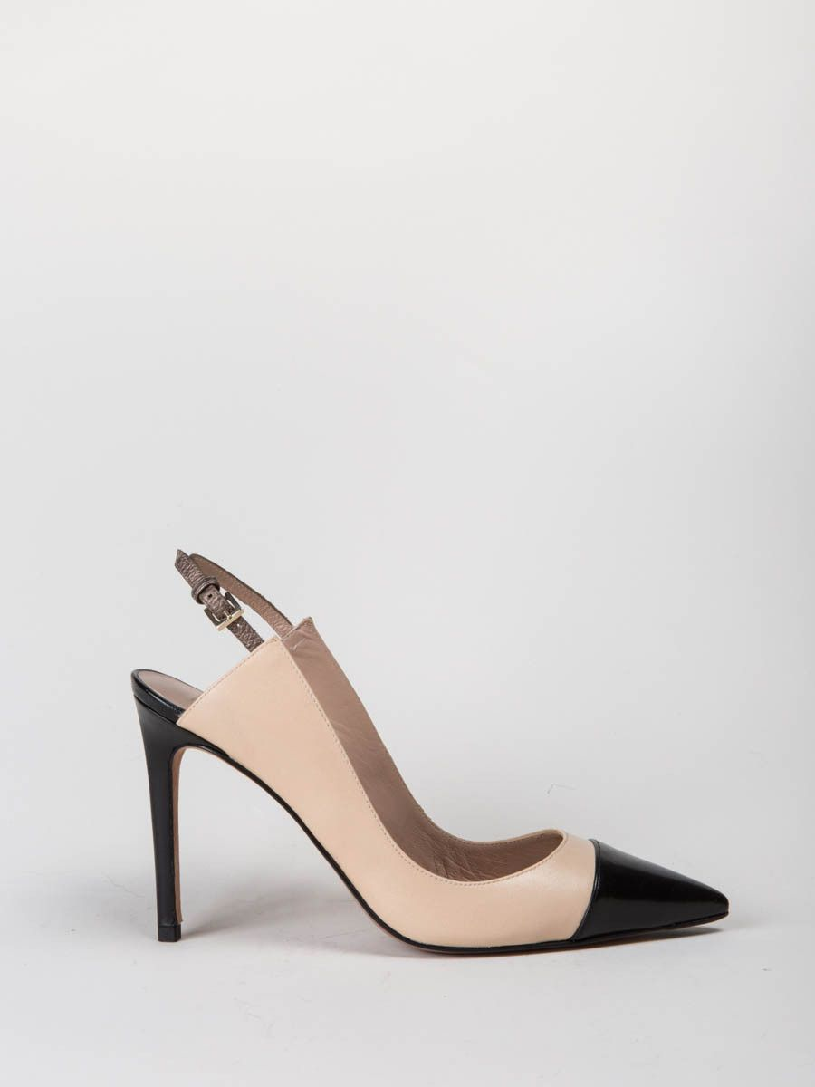 a83e5548296ed pura lopez - slingback heel ah145 | footwear | Shoes, Footwear, Heels
