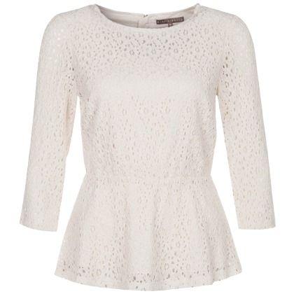 Bluse mit Schößchen ab 44,95 € ♥ Hier kaufen: http://www ...