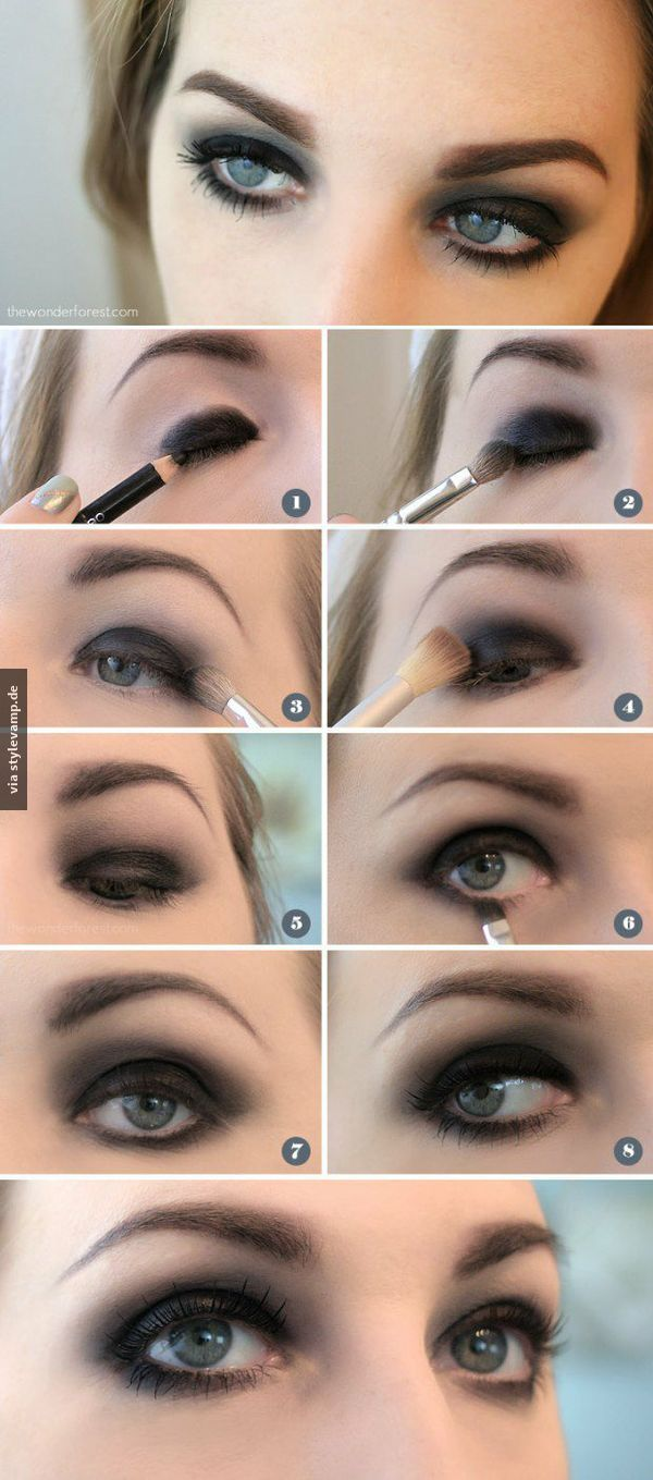 make-up trick | makeup | pinterest | smokey eye makeup, makeup und