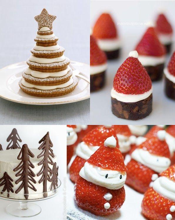 Christmas Dessert Inspiration Cute DessertsChristmas