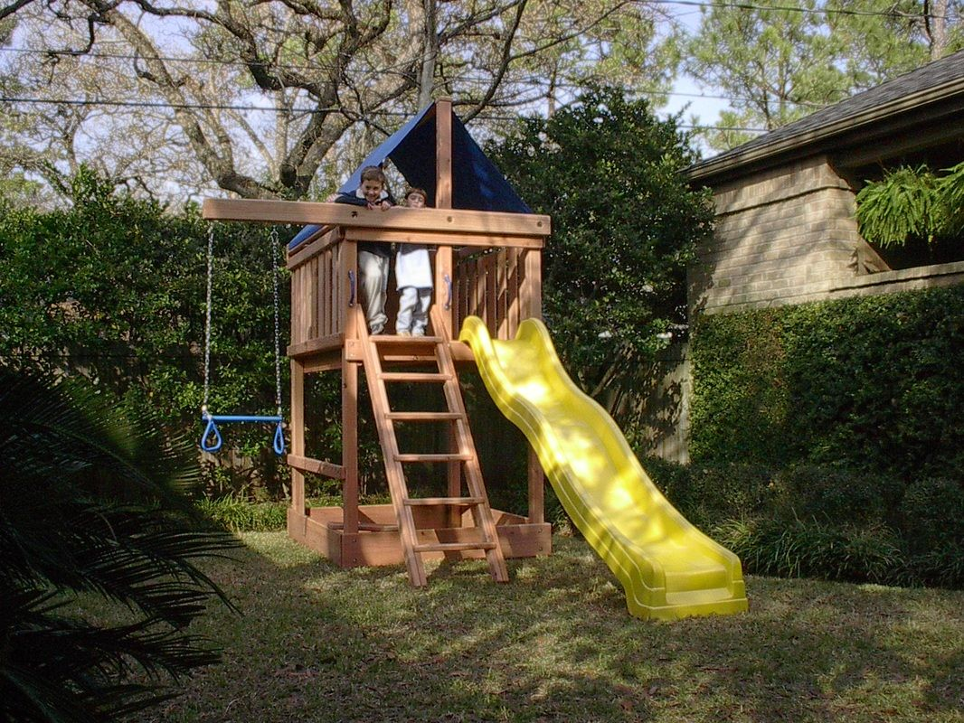 Delicieux How To Build DIY Wood Fort And Swing Set Plans From Jacku0027s Backyard. Learn  How To Build Your Own Backyard Wooden Apollo Playset With Do It Yourself  Swing ...