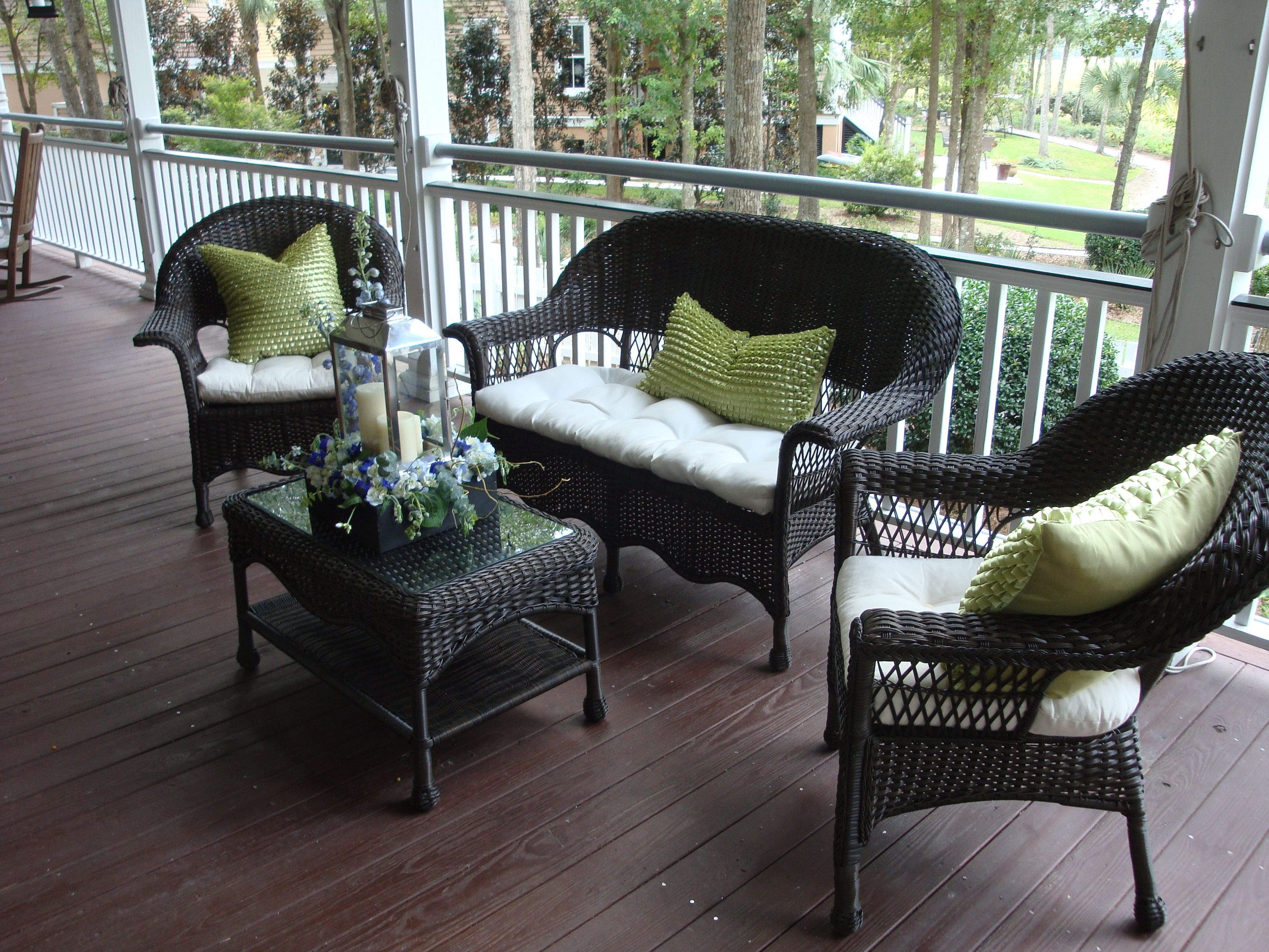 Wicker Furniture Rentals JW Weddings And Events Charleston, SC