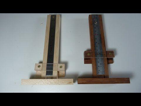 Quickandeasy Height Gauge Woodworking Plan Workshop Jigs Hand