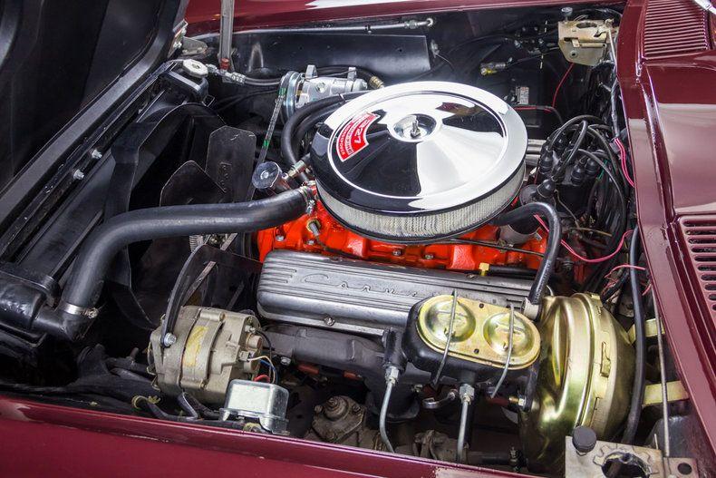 1966 Corvette Sting Ray 327350 hp V8 Engine | Corvette