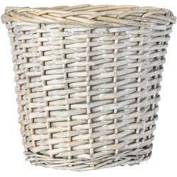 Planters outside -  Rattan basket (gray, Ø x H: 25 x 22 cm) Bauhaus.info  - #BeautifulCelebrities #Egypt #Film #Museums #outside #planters