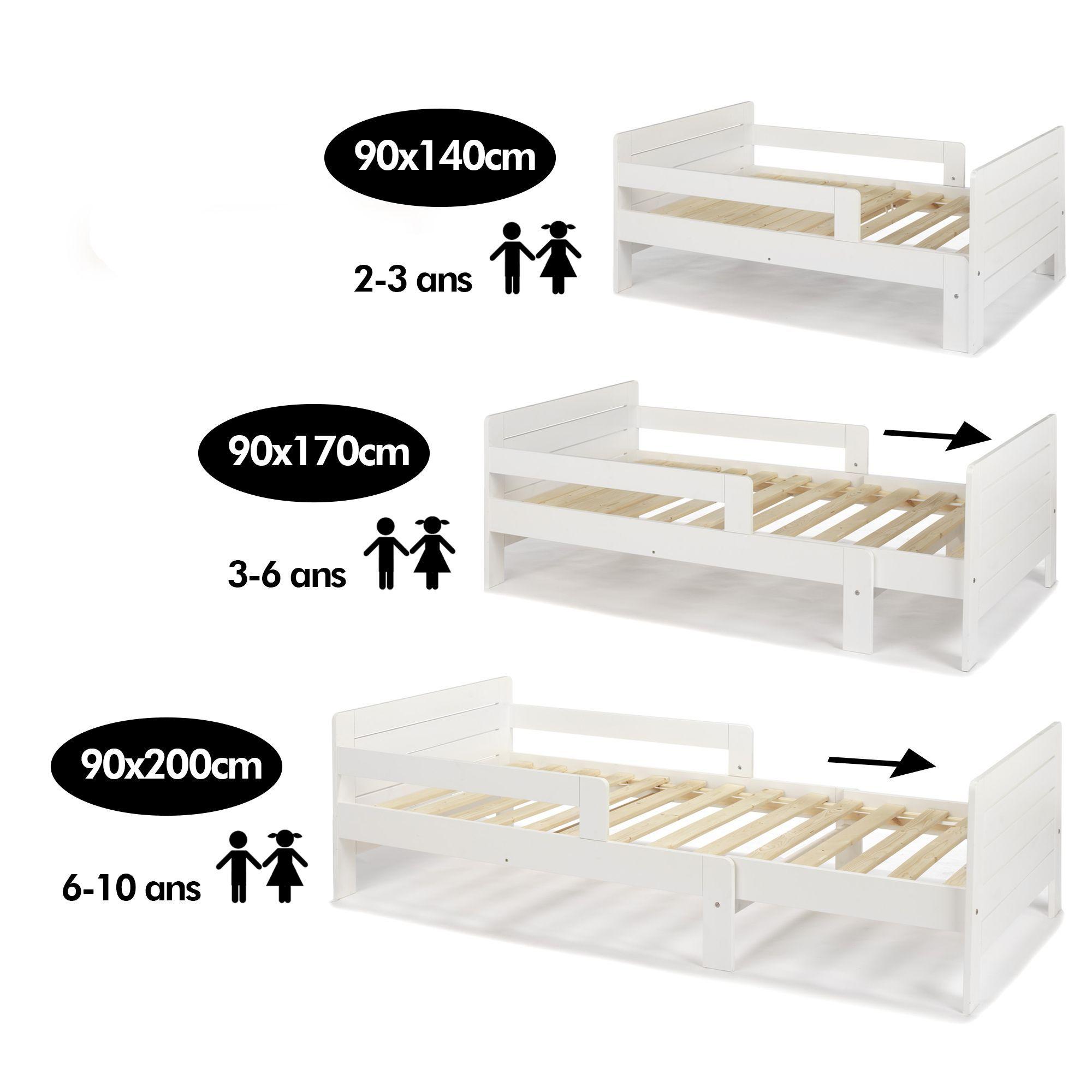 lit volutif 3 positions pour enfant lilou alinea chambre bb pinterest lit volutif. Black Bedroom Furniture Sets. Home Design Ideas