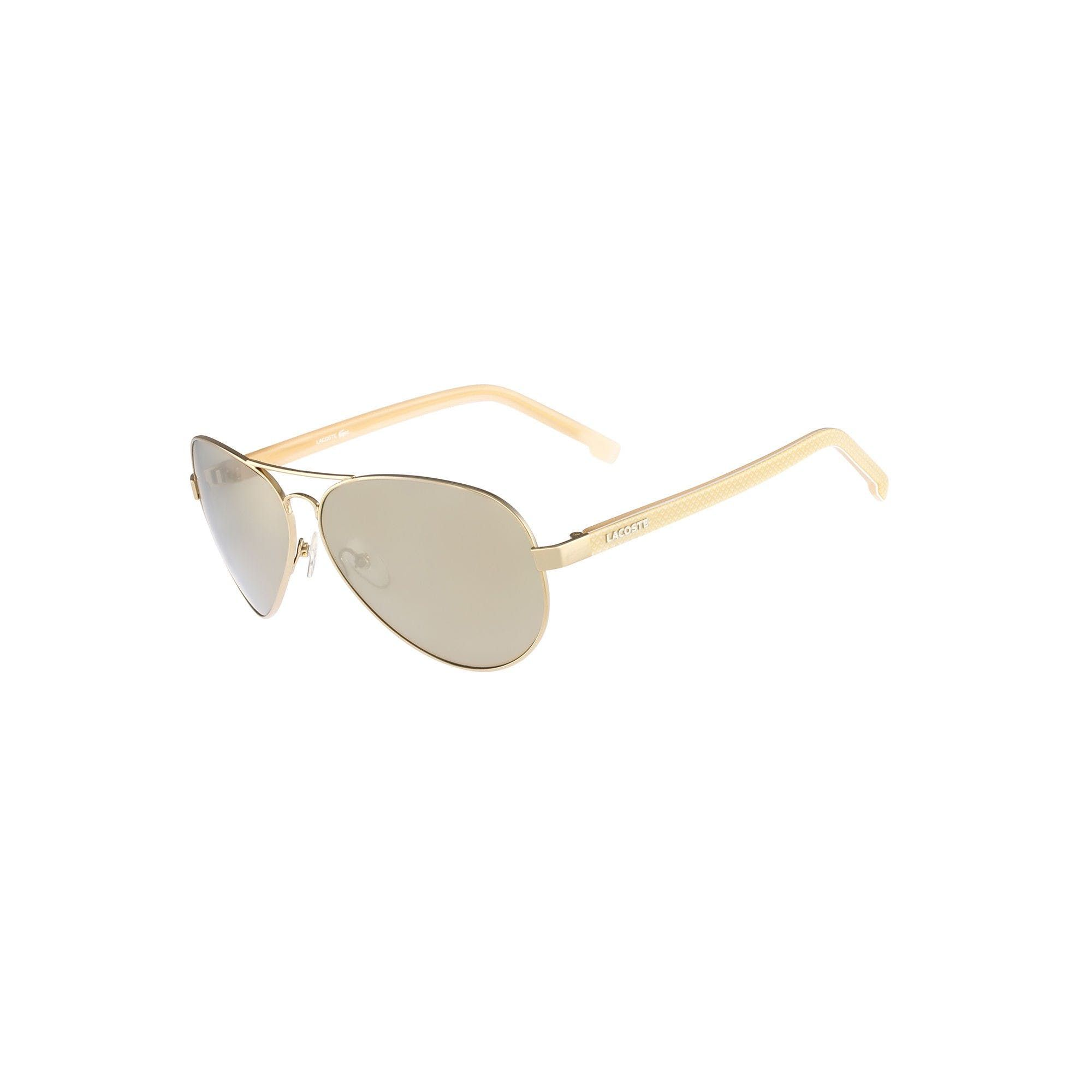 e2753a0282 Unisex Aviator Sunglasses - GOLD by Lacoste