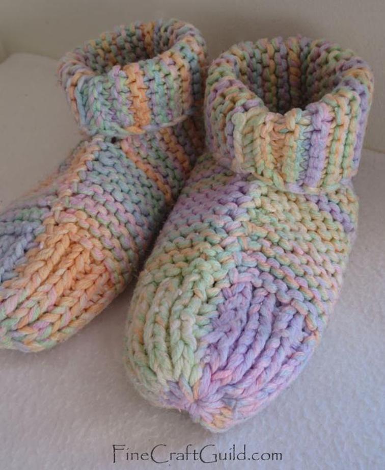 Sleep Socks Or House Slippers Knitting Slipper Knitting