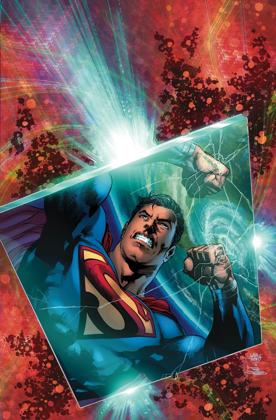 Image result for superman issue 2 ivan reis