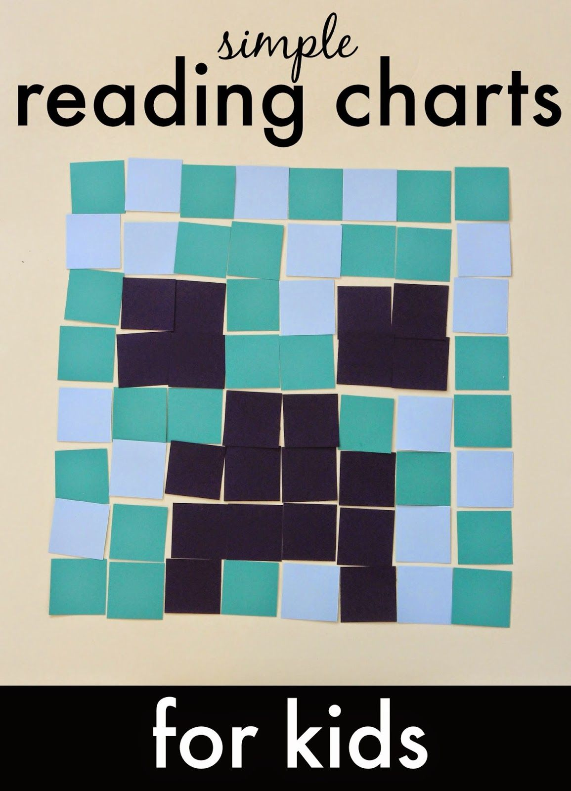 Simple Reading Charts For Kids