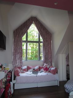 Amazing Apex Curtain Blog On Curtaingirl Com How To Dress An Apex Attic Rooms Cool Curtains Curtains Childrens Room