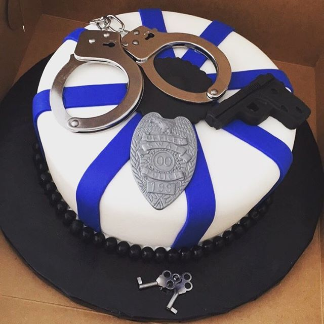 Image Result For Fbi Graduation Cake