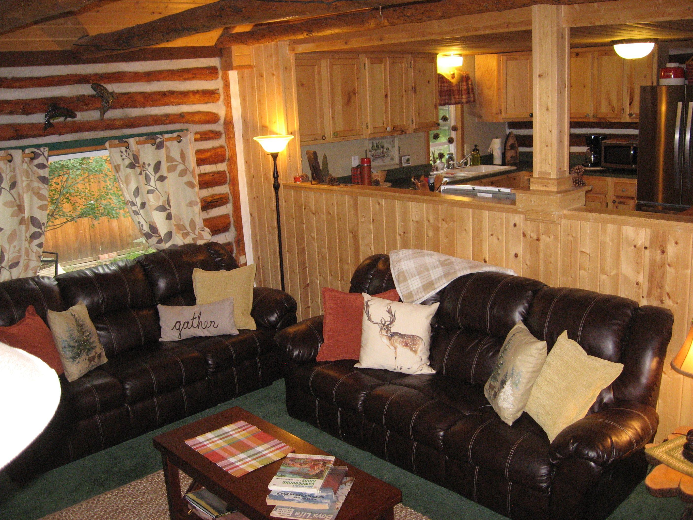 Cascading Creek Log Cabin , near Estes Park CO living