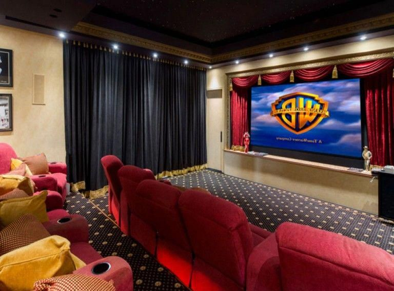 Setup With Home Theater Seating Home Theater Seating