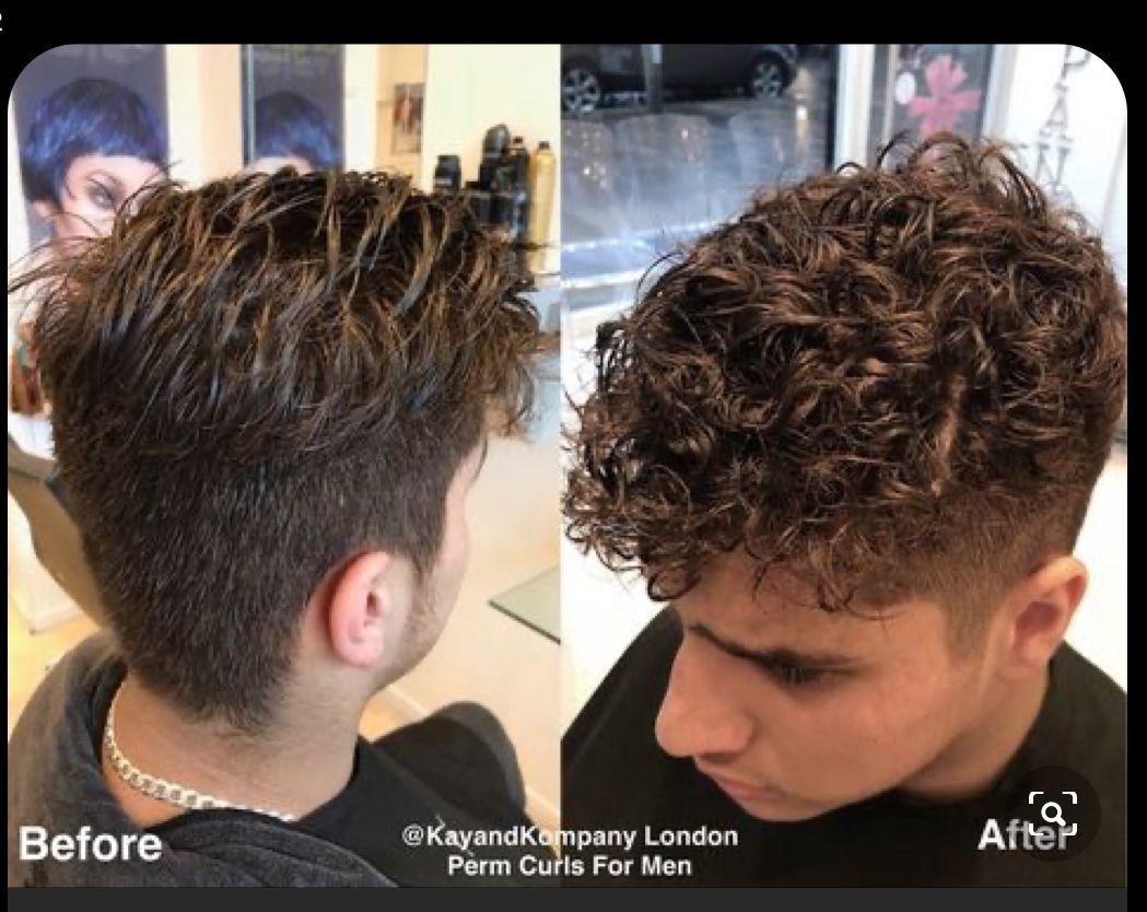 Men S Perm Amandadrummer In 2020 Curly Hair Men Permed Hairstyles Perm Curls