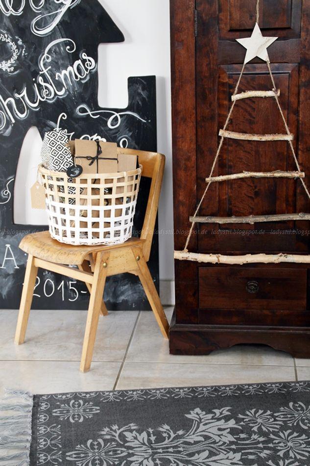 diy weihnachtsbaum aus sten weihnachten diy christmas diy pinterest. Black Bedroom Furniture Sets. Home Design Ideas