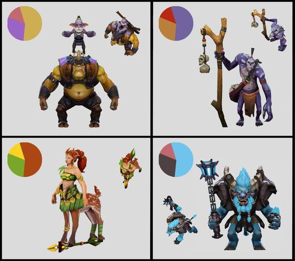 Character Design Guide Pdf : Dota workshop character art guide