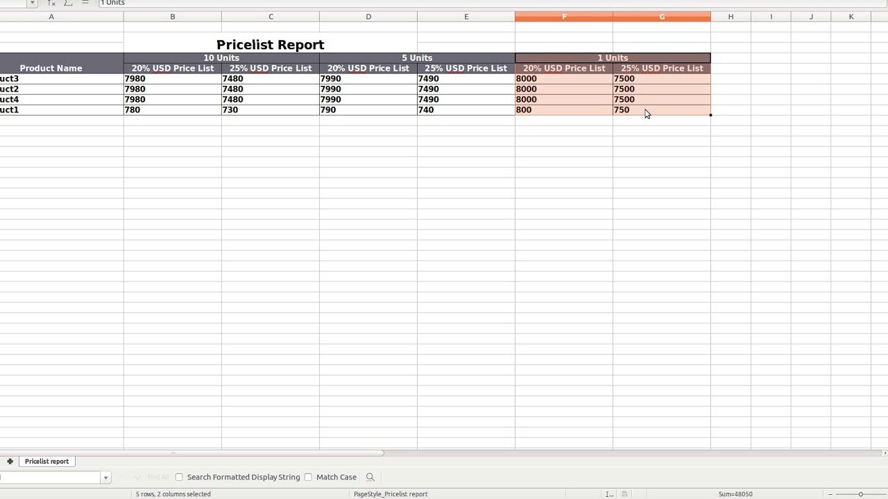Product Catalog Report in XLS - Odoo by SerpentCS | Odoo