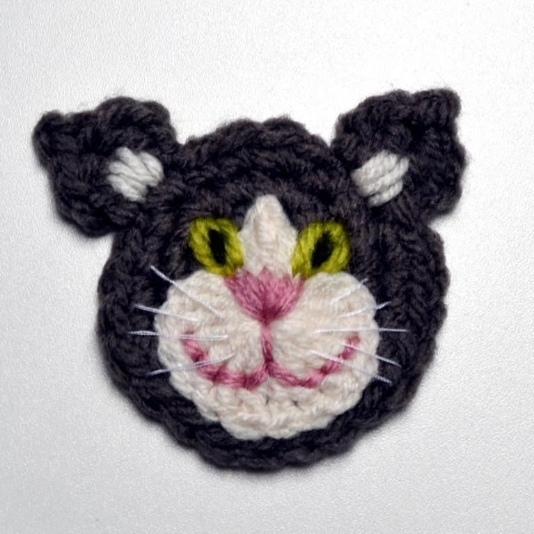 Cat applique crochet pattern cat applique crochet and cat cat applique crochet pattern via craftsy dt1010fo