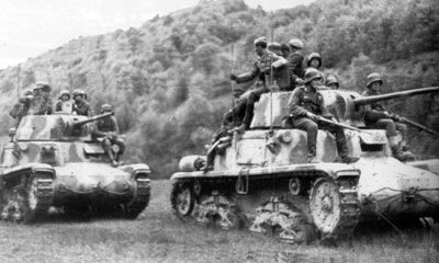 The M15/42 was the final development of Italy's main WW2 tank ...
