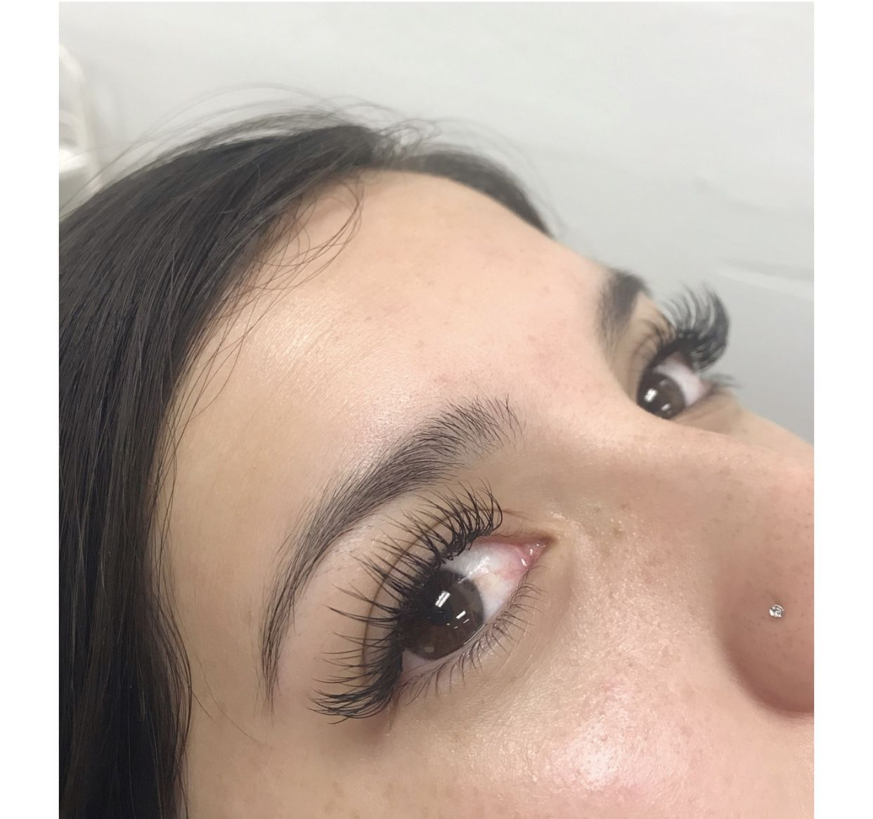Hybrid Fill Lashed You Out lashextensions sanjose