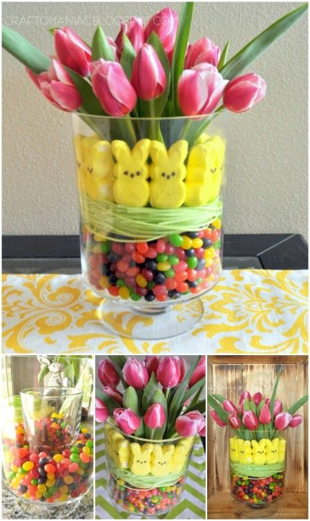 40 fun and creative easter crafts for kids and toddlers holiday beautiful fun and edible easter flower arrangement mightylinksfo