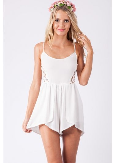 Rhubarb Syrup Playsuit $47.95 http://stelly.com.au/just-in/8496-rhubarb-syrup-playsuit-white.html