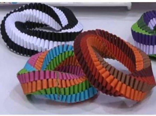 How To Make Stunning Ribbon Bracelets, Boxed Stitch Style   DIY Ribbon Craft Tutorial