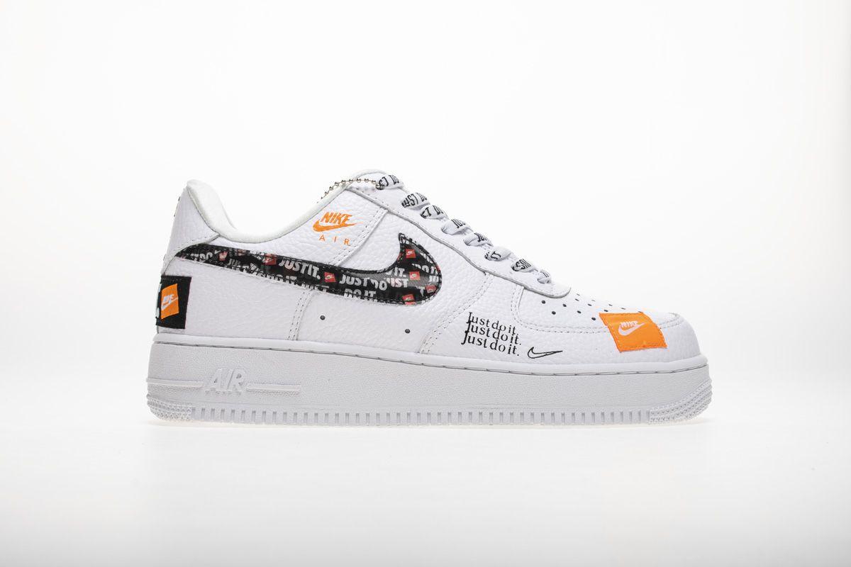 Nike Air Force 1 07 Premium Just Do It White Ar7719 100 Shoes3 Nike Air Force Nike Air Nike
