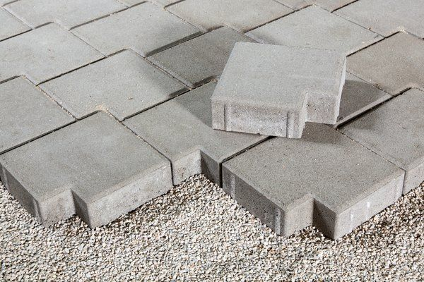 How to Install Pavers on Unlevel Ground in 2020 | How to ... on Unlevel Backyard Ideas id=11414