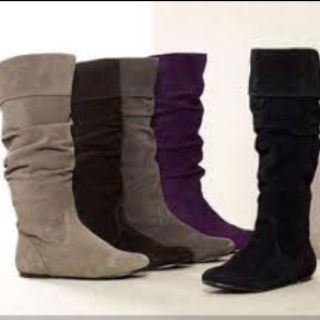 Slouchy rider boots :)