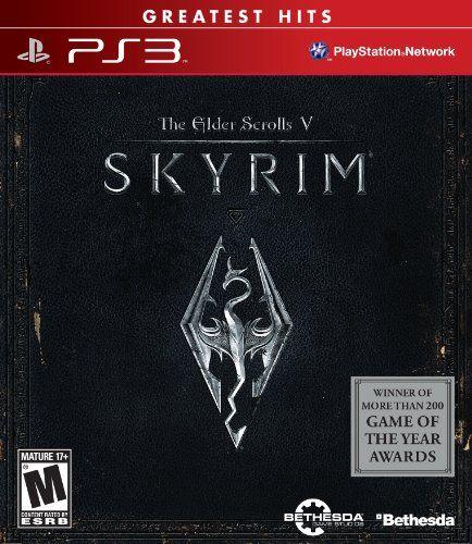 Elder Scrolls V: Skyrim (Greatest Hits) - Playstation 3    #Elder, #Greatest, #Hits, #PlayStation, #Scrolls, #Skyrim, #Under25