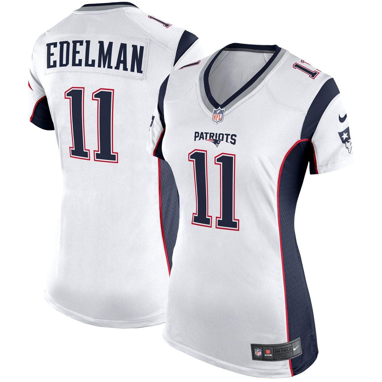 Women S Nike Julian Edelman White New England Patriots Game Jersey Affiliate Julian Aff Edel New England Patriots Game New England Patriots Patriots Game