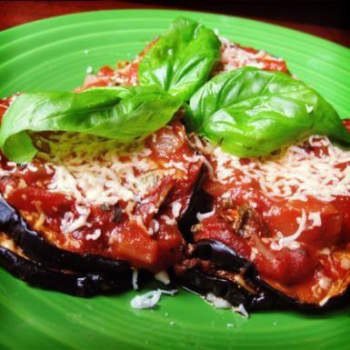 Healthy Eggplant Recipes: Vegan Eggplant Parmesan - Healthy Dinner Recipes: Healthy Vegan Recipes for Men - Shape Magazine