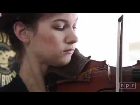 Hilary Hahn - Bach - Gigue from Partita No 3 mov | Old-Time Fiddle