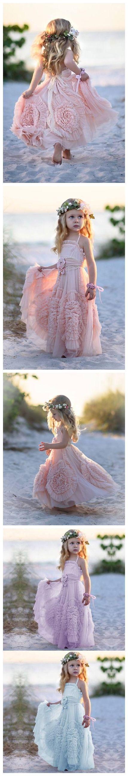 Blush pink girl dress  Cheap Blush Pink Flower Girl Dresses Cute Lilac Toddler Flower Girl