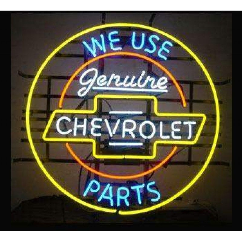 Online Store Of Genuine Chevrolet Part Neon Sign Wl Aun03 Neon
