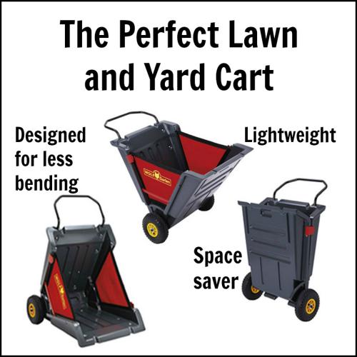 Wolf Garten Portax 150 Yard Cart Bluestone Garden Yard Cart Lawn And Garden Garden Tools
